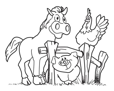 coloring pages animals farm diy farm crafts and activities with 33 farm coloring