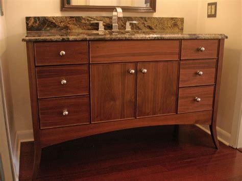 Walnut Vanity | walnut vanity contemporary bathroom vanities and sink