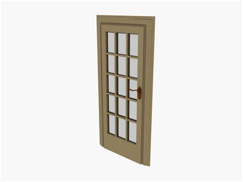 3d Door by 3ds Door 3d Model Sharecg
