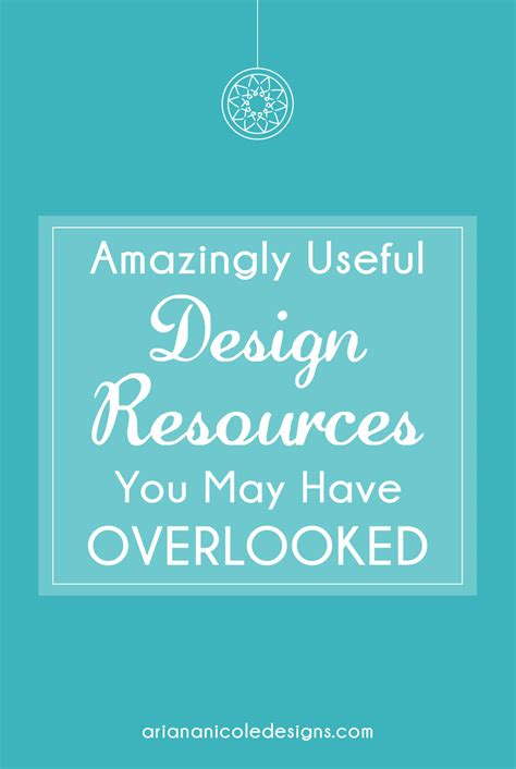 design resources amazingly useful design resources you may have overlooked