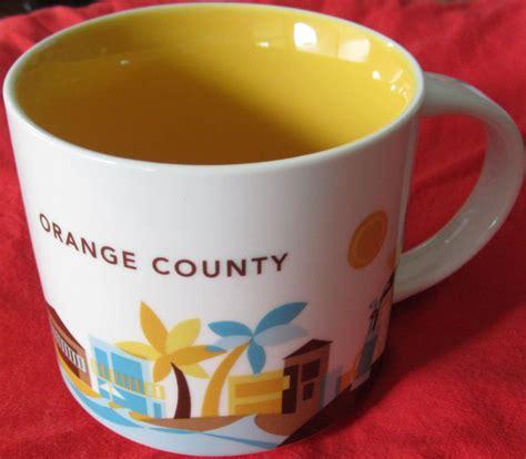 2013 starbucks you are here starbucks 2013 you are here collection orange county 14 ounce collector coffee mug new