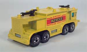 Wheels Airport Rescue Truck Missing