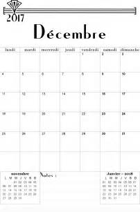 Calendrier Decembre 2017 Pdf Calendrier 2017 2018 Mensuel 224 Imprimer Gratuitement