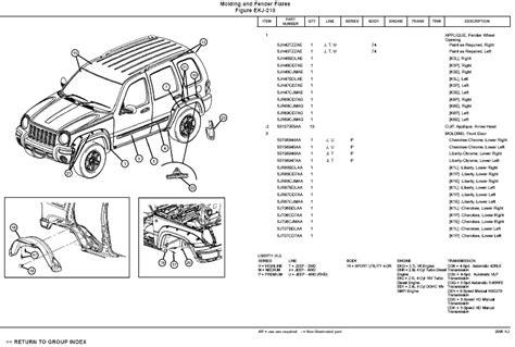 motor repair manual 2004 jeep liberty parking system 2005 jeep liberty parts diagram automotive parts diagram images