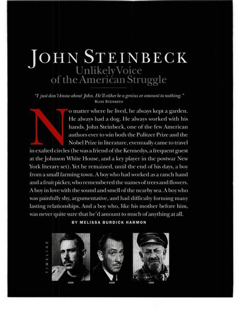 john steinbeck biography for students 17 best images about of mice and men on pinterest