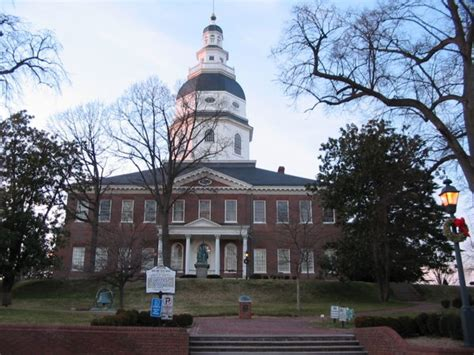 maryland state house annapolis md maryland state house capitol of the us from 11 26 1783 to 8 13 1784