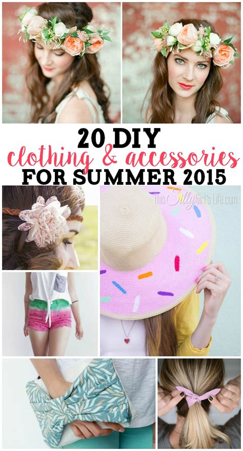 Diy For Summer 2015 20 diy clothing and accessories for summer this silly