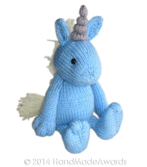knitting pattern unicorn blue unicorn pdf email knit pattern
