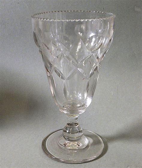 Victorian Glass Vase Victorian Cut Celery Vase