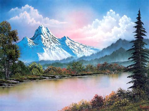 bob ross paintings wallpaper photo collection wallpaper bob ross