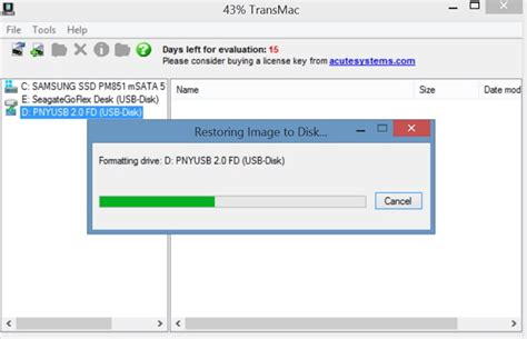 make bootable installation usb from mac os x dmg on