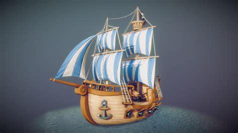 moovie toons pirate ship animated  model  sevez