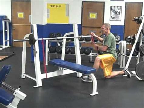 bench press with resistance band barbell bench press with resistance bands youtube