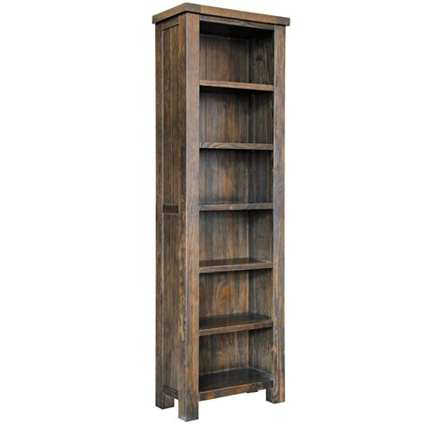 narrow bookcase asten narrow bookcase