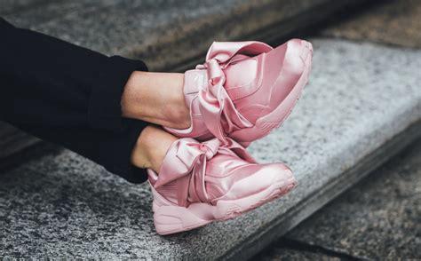 X Fenty Rihanna Bow 9 now available rihanna x fenty bow sneaker kicksonfire