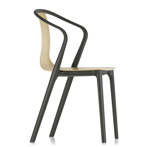 Vitra Armchair by Vitra Belleville Armchair Wood