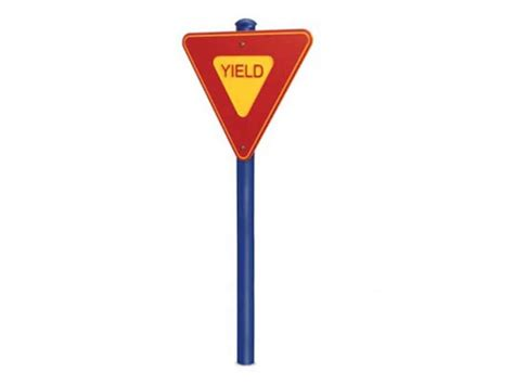 yield sign color picture of a yield sign clipart best