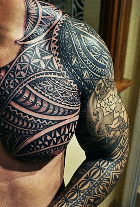 polynesian tattoos full sleeve polynesian tattoos for