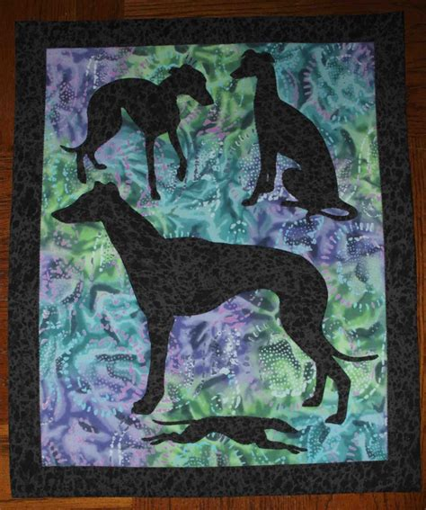 cat applique pattern wall hanging greyhound applique quilt wall hanging quilts dogs