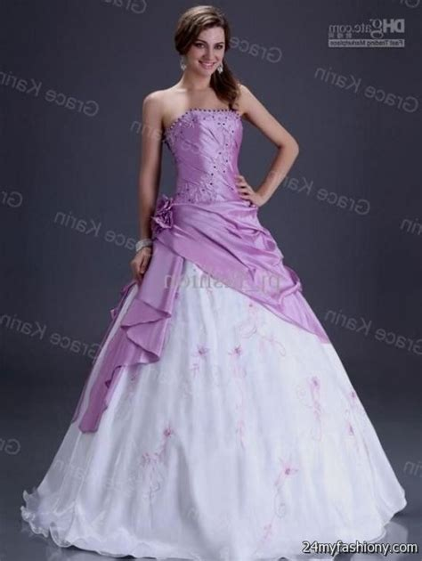 Pink White Wedding Dresses by Pink And White Wedding Dresses 2016 2017 B2b Fashion
