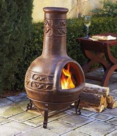 chiminea on wood deck using a chiminea a how to guide for your chimenea
