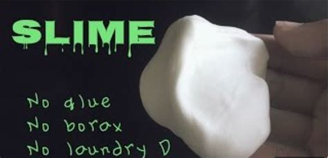 diy slime without borax an easy way to make slime without glue borax or laundry