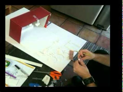 How To Make A Shoe Box Out Of Paper - time lapse of me a shoebox diorama