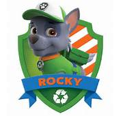 Rocky From Paw Patrol Badge Car Tuning