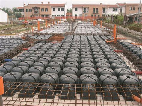 pavimento areato cupolino in plastica e modulo per vespaio aerato cassero