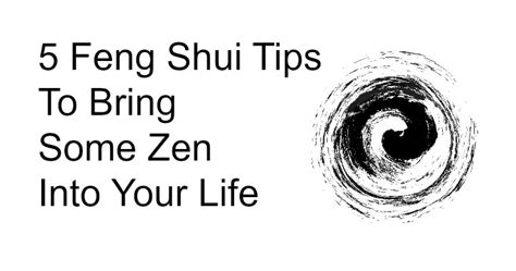 Feng Shui Tips To Invite Prosperity Into Your Home by 5 Feng Shui Tips To Bring Some Zen Into Your