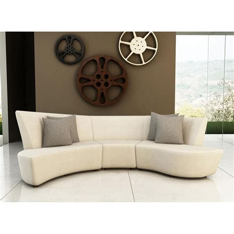 curved contemporary sofa search delaine home