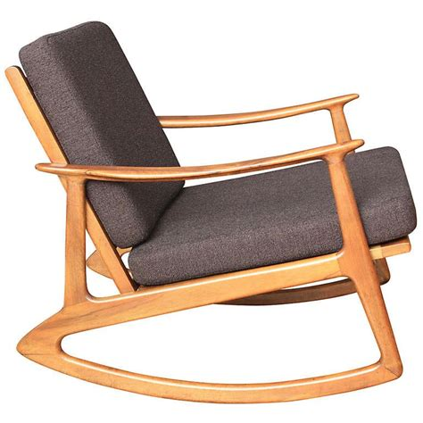 mid century rocking chair mid century modern rocking chair at 1stdibs