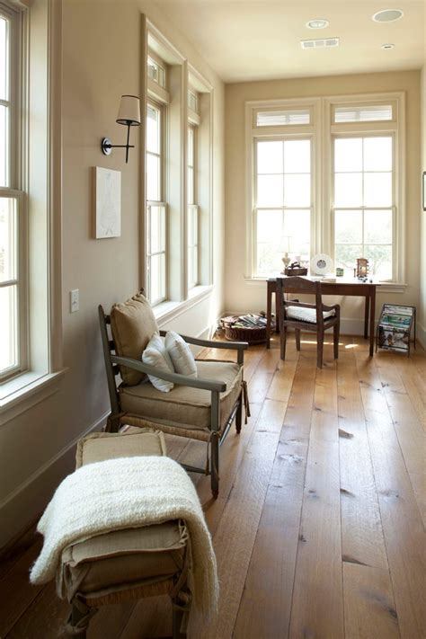 Quarter Sawn Oak Cabinets Kitchen white oak wood floors home office rustic with baseboards