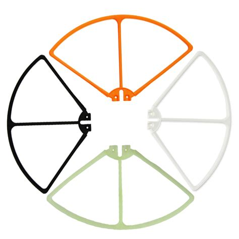 Fluorescence Propellers Blades For Syma X8c X8w X8g X8hc X8hw 4pcs set propeller blade protector ring for syma x8c x8w