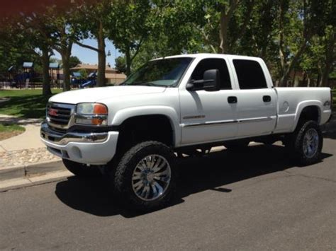electric and cars manual 2005 gmc sierra 2500 on board diagnostic system purchase used 2005 gmc sierra 2500hd slt lifted 4x4 crewcab in albuquerque new mexico united