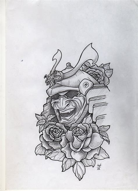 samurai helmet tattoo designs samurai mask design by cfens on deviantart