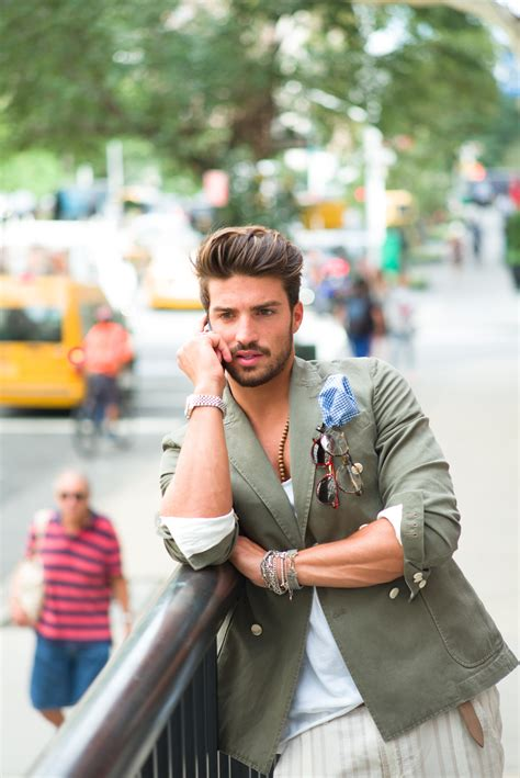 what does mariano di vaio use to fix his hair mariano di vaio