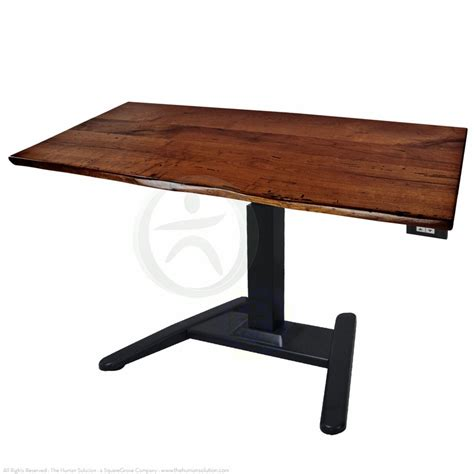 Shop Uplift 970 Solid Wood Pedestal Stand Up Desks Adjustable Stand Up Desks