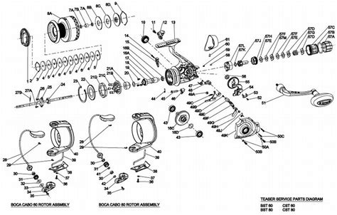 quantum reel parts diagram welcome to tackleservice boca teaser 60sz spin reel