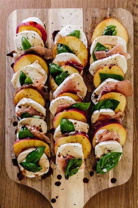 braut food life s a peach an update on the classic caprese s l