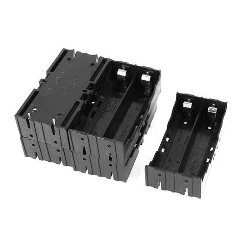 Battery Holder 3 7v 18650 5 pcs plastic 2 x 3 7v 18650 batteries 4 pin battery