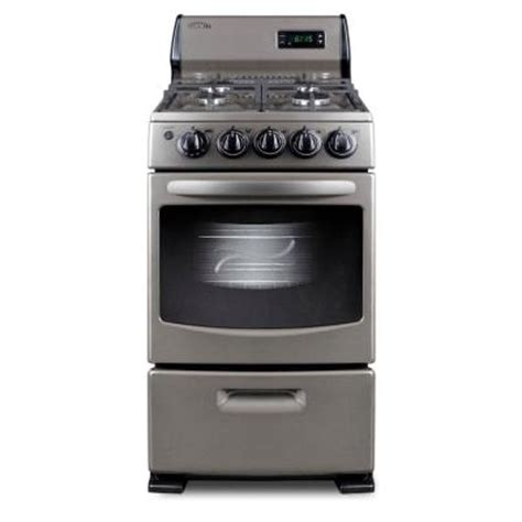 summit appliance 20 in 2 62 cu ft gas range in gray