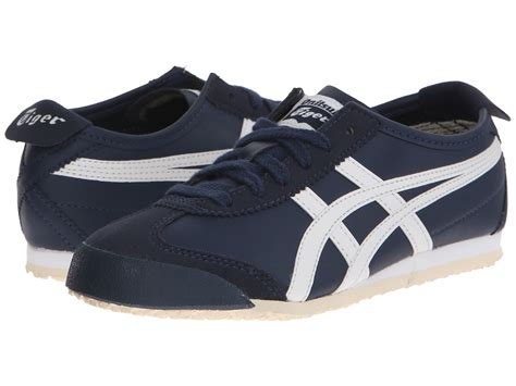 Po Original Onitsuka Tiger Mexico 66 Baby White Blue C6b5y 0145 onitsuka tiger by asics mexico 66 174 toddler kid navy white zappos free