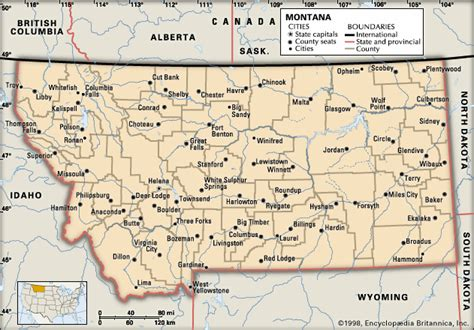 montana map with cities maps of montana cities