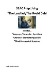 The Landlady By Roald Dahl Essay by Objective Summary Handout Quiz And Constructed Response The O Jays Texts And Quizes