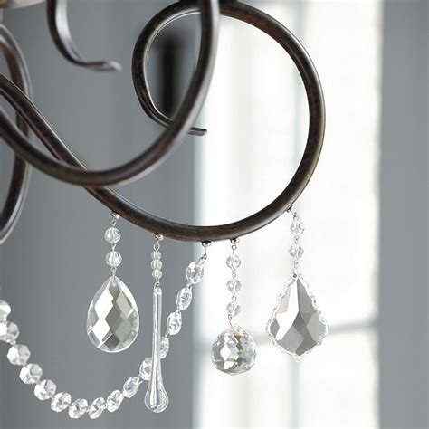 Magnetic Chandelier Charms Magnetic Crystals Set Of 3 Ballard Designs
