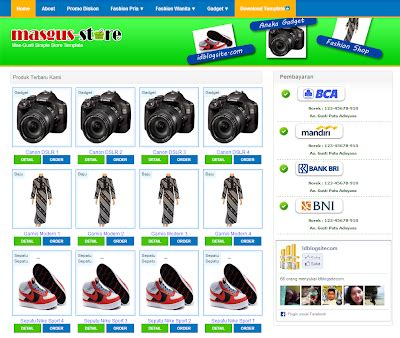template toko online gratis 2014 download 33 template toko online blogspot gratis part 2