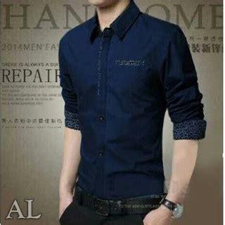 Baju Baju Pasangan Kemeja Pria Bu Murah baju kemeja pria dewasa hem laki laki lengan panjang murah trendy modern modis terbaru william