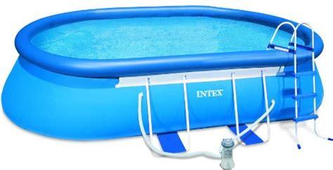intex      oval frame easy set swimming pool