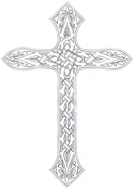 vined celtic cross by taranthor on deviantart